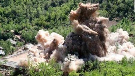 これは知ってた速報だよな 〜 【北朝鮮】核実験場爆破に専門家が指摘「予想通り入り口だけ」「茶番劇だ。掘り直せばすぐ使える。」
