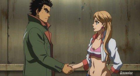 【鉄血のオルフェンズ*】実際昭弘とラフタが付き合ったらどうなってたか?を考察するスレ!