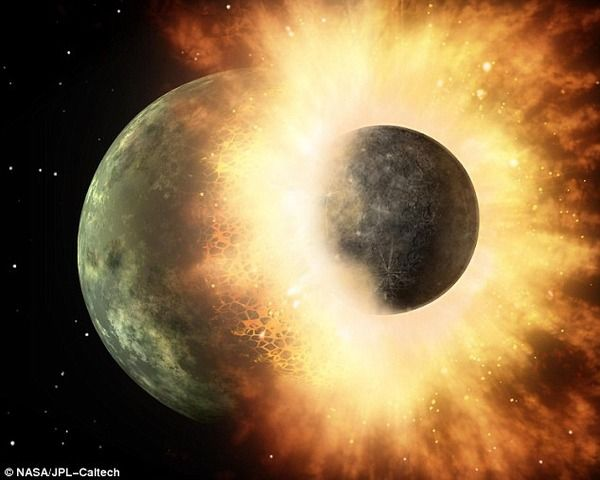 【マジか】地球の水は「ファーストインパクト」で惑星との衝突で誕生したことが判明!