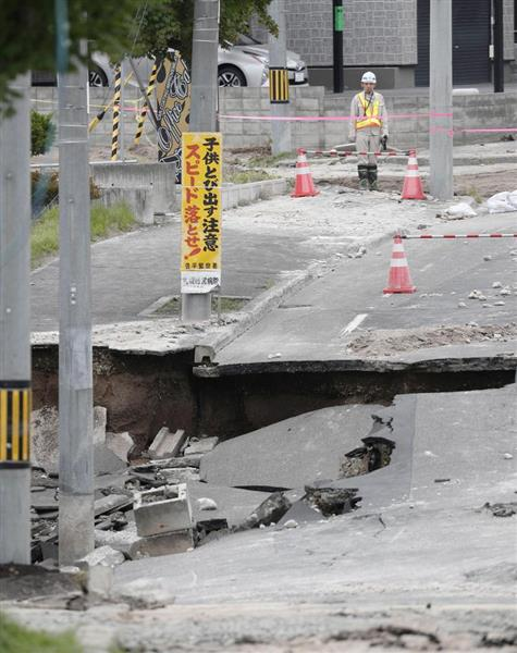 【北海道地震】液状化被害の札幌市清田区 「復旧めど全然立たない」…初の住民説明会、責任の所在で紛糾