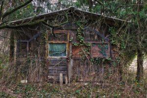 【超!閲覧注意】山の中にある廃墟でとんでもないものが見つかってしまう・・・(画像あり)
