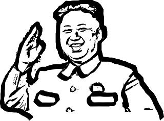 【平昌五輪】金正恩氏のそっくりさん、北朝鮮「美女応援団」に接近し退場に