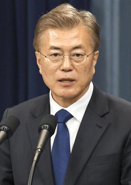 【韓国】文在寅大統領、米韓軍事同盟の縮小を意図しているのか 対北の融和姿勢目立ち、米メディアから突っ込まれる