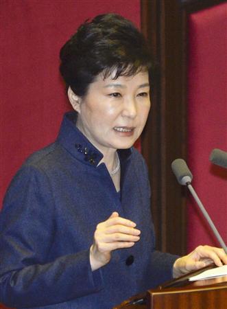 【韓国】朴大統領、国会で演説!「北に屈服した支援をこれ以上しない」