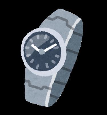 俺がデートの時つけてる腕時計どう?3500円で買ったんだが