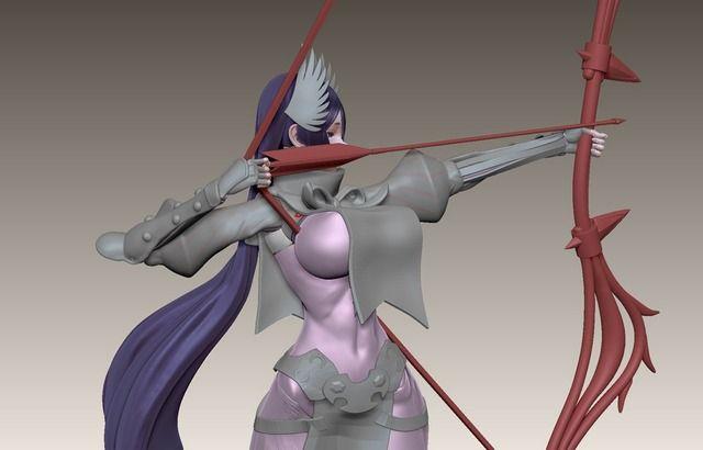 【画像あり】巨乳女が弓道をした結果