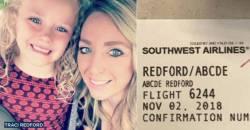 【悲報】「Abcde」という名の少女をサウスウエスト航空会社職員が嘲笑 搭乗券の写真をフェイスブックに投稿