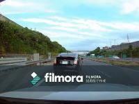 撮影者の煽り運転がDQNプリウスとのトラブルに。車載レコーダー映像。