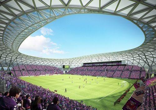 京都新スタジアム、基本設計が明らかに!2万人収容で全席を屋根で覆う「ゆったり・見やすい観客席」延5万9200㎡