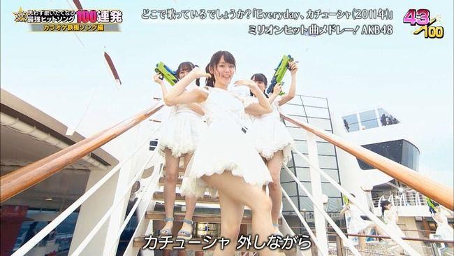 【テレ東音楽祭2019】AKB48西川怜c「あれは、見えても大丈夫なあれなので!ちょっとドキッとしちゃった人は 単純ですね