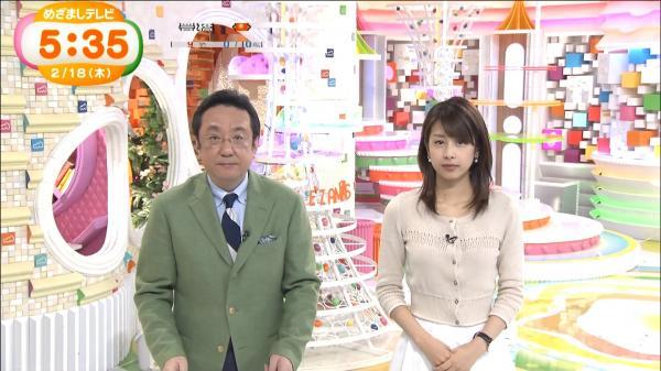 【最新画像】加藤綾子アナのニットお●ぱいがたまんねええええええええええええええええ