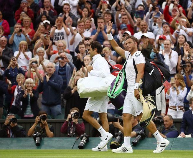 普通のおっさんがフェデラーとテニスやった結果wwww