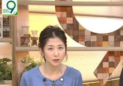 【画像】NHK 女子アナのけしからんお●ぱい!!!!!