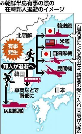 人質にされる前提で渡韓して下さい。自衛隊は助けられなくなりました ~ 在韓邦人退避、自衛隊使えず?…韓国が消極姿勢 日本政府との協議に応じず