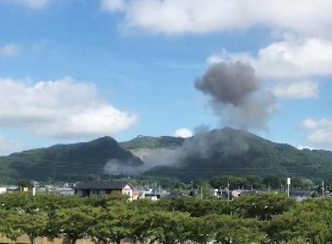 【茨城】砕石場爆発 「1トン爆弾」の威力に匹敵