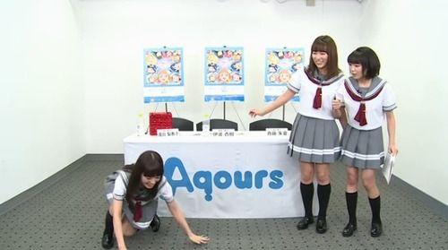 【GIF】女性声優が起き上がる拍子に、パンツが丸見えハプニング(※画像あり)