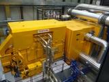 アイスランドの地熱発電所の発電機