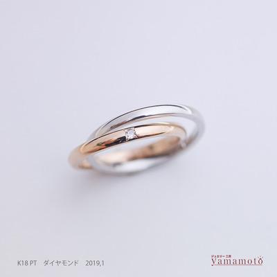 pt K18 ring 190110