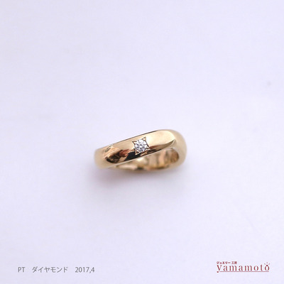 k18 baby ring 170608