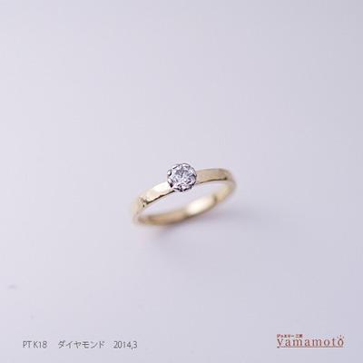 pt k18 dia ring 140329