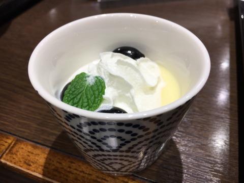 d_丹波黒豆入りプリン
