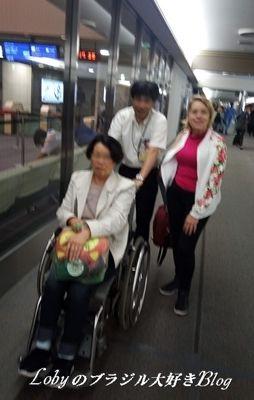 空港車椅子