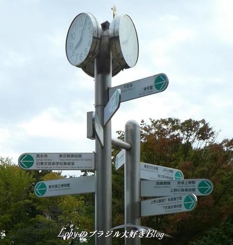上野公園2標識