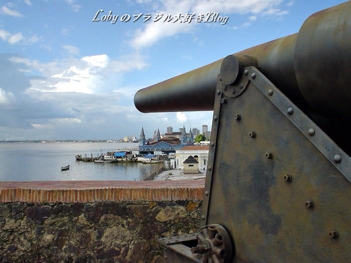 ベレーンの旧市街2プレゼーピオ要塞2大砲