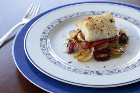 塩鱈料理1