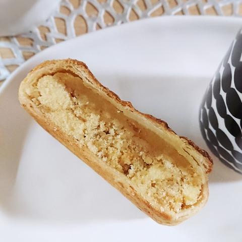 ミニストップしっとり栗のパイケーキ断面
