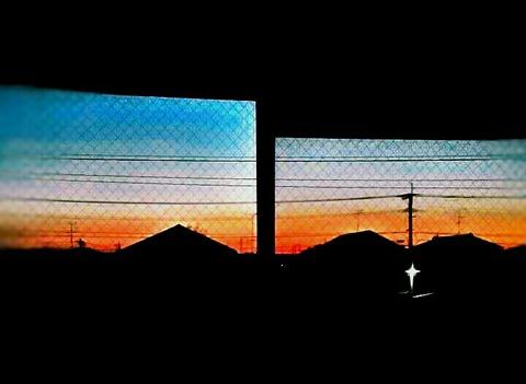 【日々徒然】部屋の窓から見える朝の景色&LINE読者登録★感謝!