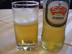 090810西湖ビール
