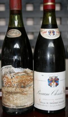 090922ブルゴーニュ古酒2種