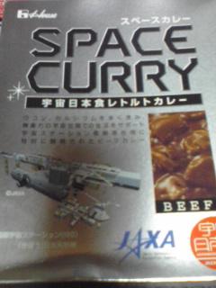 090904宇宙食カレー