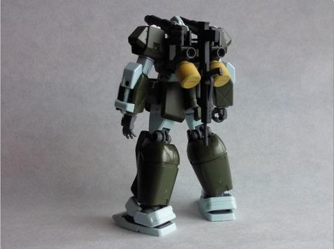 ジムキャノンⅡ 完成ディテール11-1