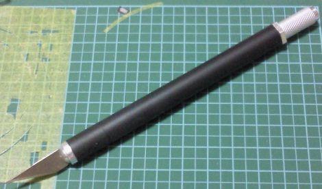 100円ショップ:デザインナイフ