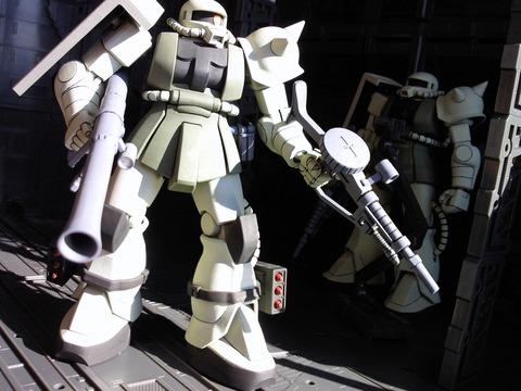 第11MS連隊 ザクⅡ 5