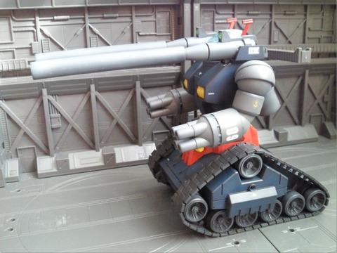 ガンタンク完成4
