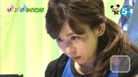 画像 女子アナ テレ朝 松尾由美子アナ