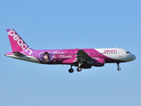 【画像あり】篠田麻里子(27)デザインのジェット機wwwwwwwwwwwwwwwwww