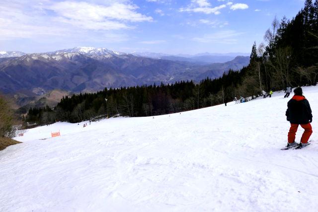ノルン 水上 スキー 場 積雪