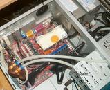 PC内部で卵焼き