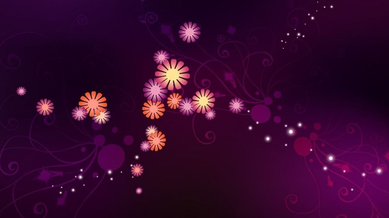 abstract purple flowers wallpaper full hd tumblr full hd