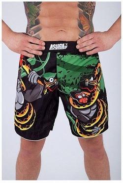 Gorilla vs Anaconda MMA Shorts 1a