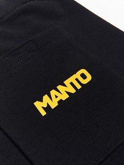 MANTO cotton shorts COMBO black 4