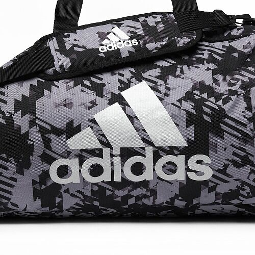 14adiACC058 - 2IN1 BAG - GREY Camo - close up 01