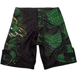 Green Viper Fightshorts Kids BlackGreen 2