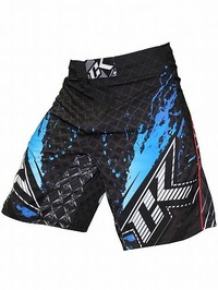 Shorts Stained S2 BK Blue1