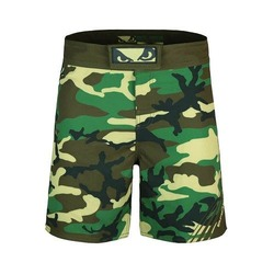 Soldier Training Fight Shorts green 1