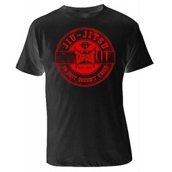 JIU JITSU  T-SHIRT black-red 1